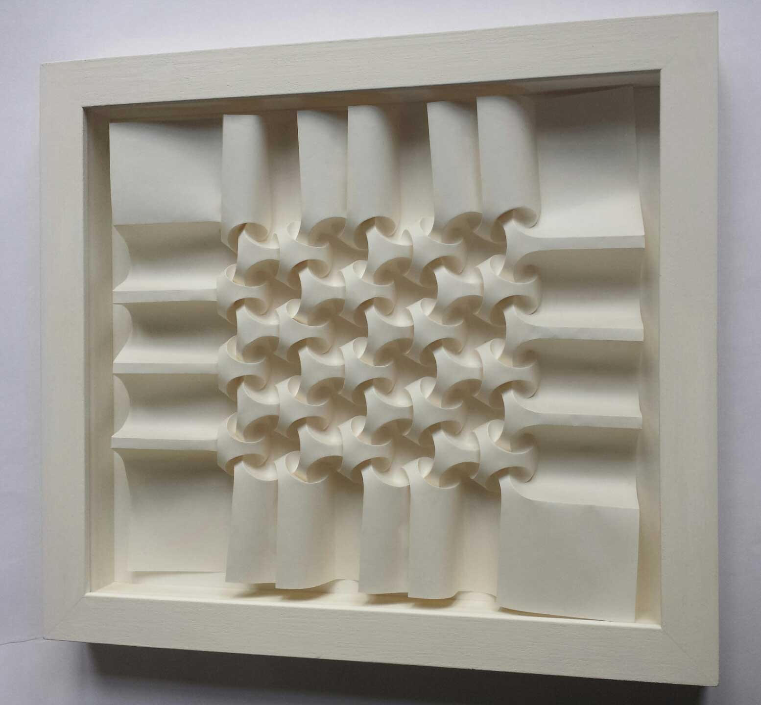 Paper Fold for sale by Polly Verity - Intersecting Orbs