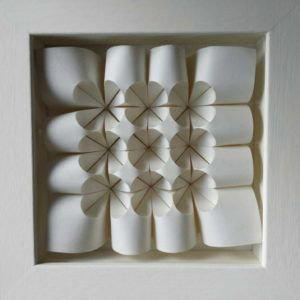 Paper Fold for sale by Polly Verity - Pansy or Heartsease
