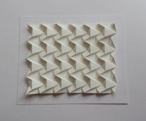 Forest Pattern Paperfold by Polly Verity