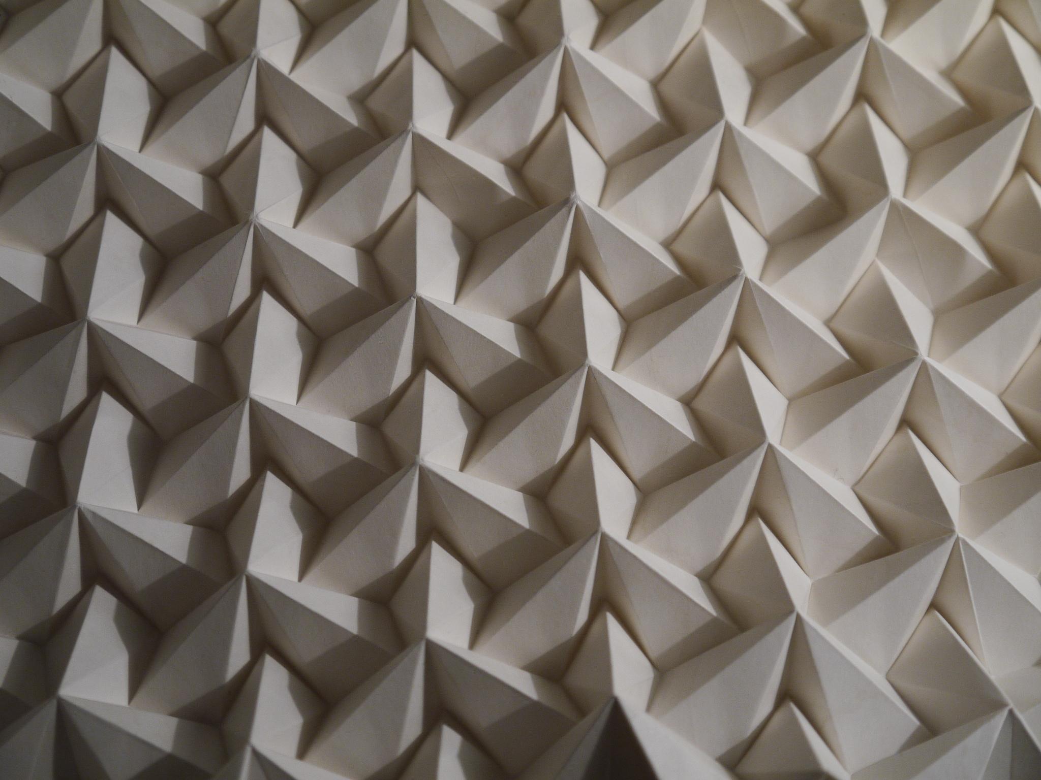geometric paper fold