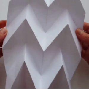 Origami corrugation