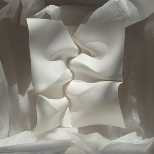 paper kiss with teeth