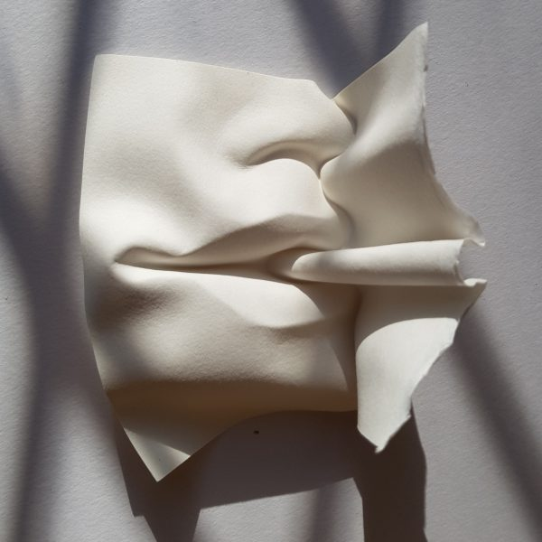 Smoking paper sculpture