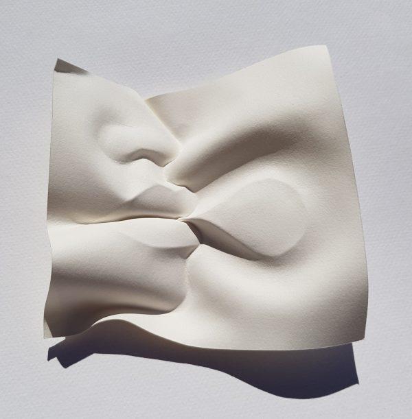 Speech bubble sculpture